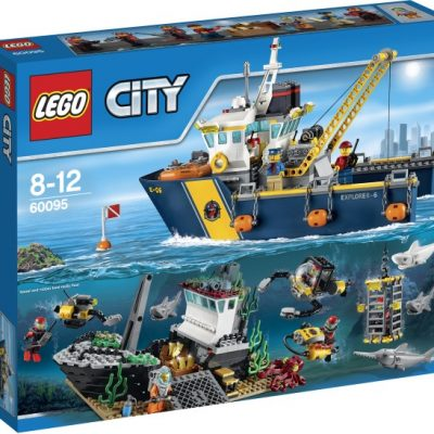Lego City-Tiefsee-Expeditionsschiff