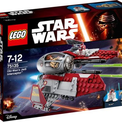LEGO® Star Wars Obi Wan s Jedi Interceptor 75135
